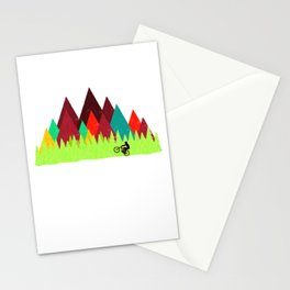 MTB Trails Stationery Cards