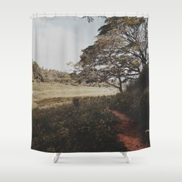 Into the field  Shower Curtain
