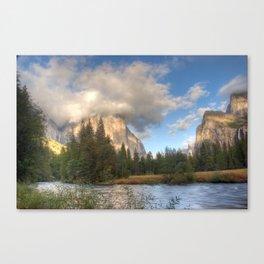 Yosemite Valley Haze, October 2010 Canvas Print
