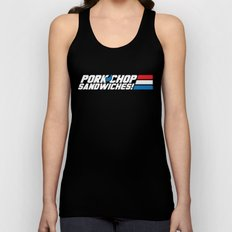 Pork Chop Sandwiches! Unisex Tank Top