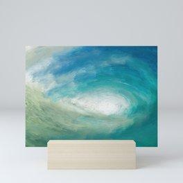 Wild Wave - Clear Sea Mini Art Print