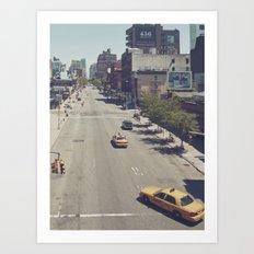 taxi... Art Print