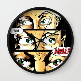 What The Hell Wall Clock