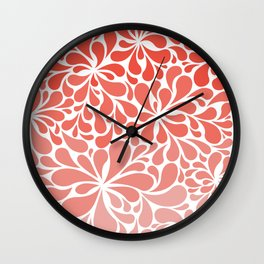 Simple Paisley Wall Clock