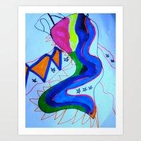 Swimmy Art Print