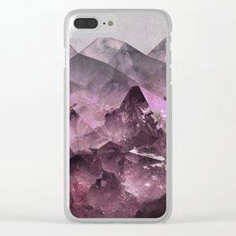 Quartz Mountains Clear iPhone Case