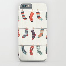 Don't Waste Time Matching Socks Slim Case iPhone 6s