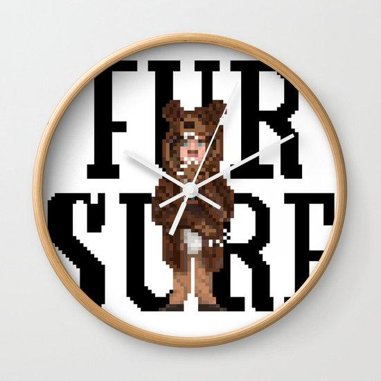 Fur Sure Wall Clock