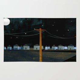 Night Landscape Rug
