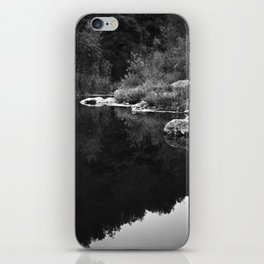 Shoreline Reflection On the Water iPhone Skin