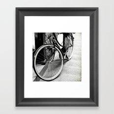 Bike Detail Framed Art Print
