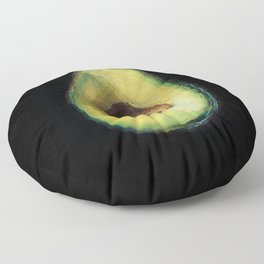 Avocado Painting by Brooke Figer Floor Pillow