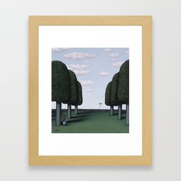 The First To See It Framed Art Print