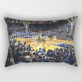 Tip-off, UNC at Duke Rectangular Pillow