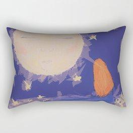 Moon talk Rectangular Pillow