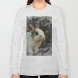 Artistic Animal Bunny 2 Long Sleeve T-shirt