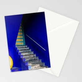 majorelle entrance Stationery Cards