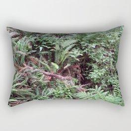 Redwood Rainforest Ferns Rectangular Pillow