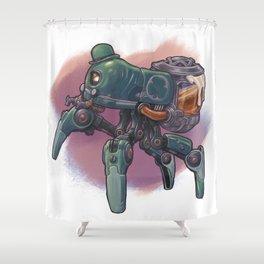 Saint Patri-Bot T-Shirt Shower Curtain