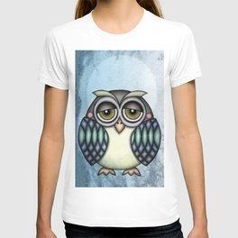 Owl illustration drawing T-shirt