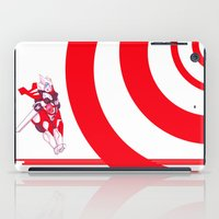 fat iPad Cases featuring Fat Drift by riotbreaker