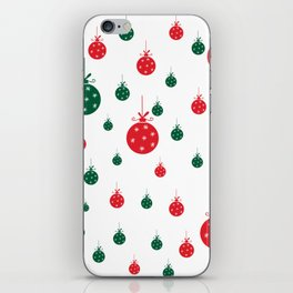 Chistmas balls iPhone Skin