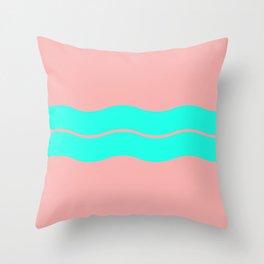 Sea dreamscape Throw Pillow