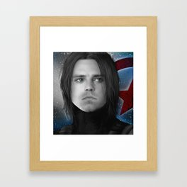 Bucky - James Buchanan Barnes  Framed Art Print