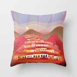 Michoacan Throw Pillow