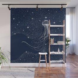 starry jellyfish Wall Mural