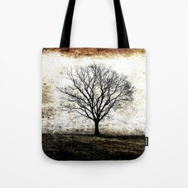One Fog Tree Warm Tote Bag
