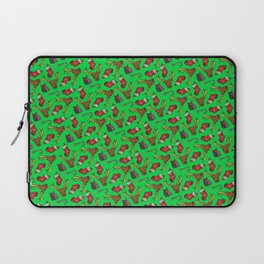 Merry Fucking Christmas Pattern Laptop Sleeve