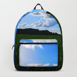 meadow and clouds std Backpack