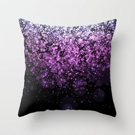 Blendeds VI Glitterest Throw Pillow