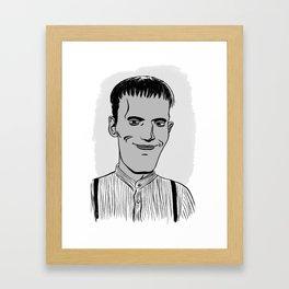 LURCH - THE ADDAMS FAMILY Framed Art Print