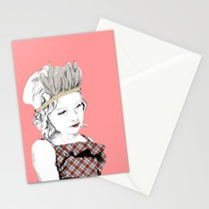 Little Indian Girl Stationery Cards