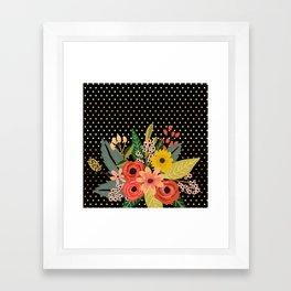 Flowers bouquet #2 Framed Art Print