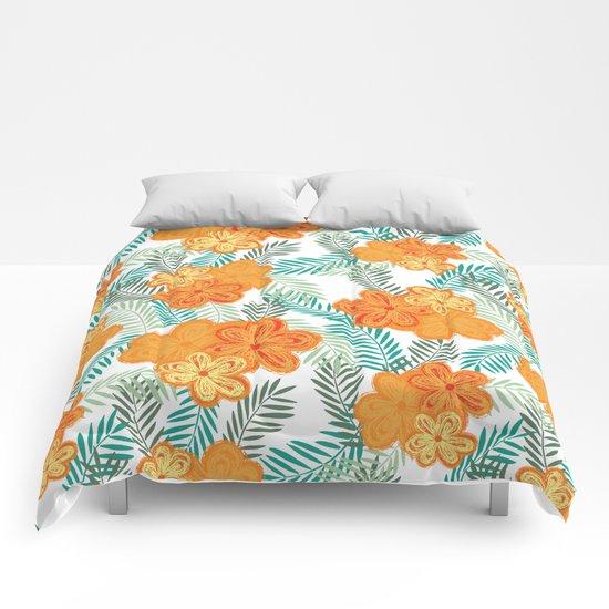 Graphic Garden 6 Comforters
