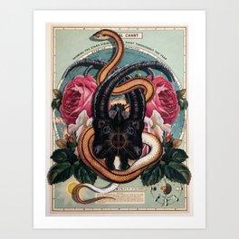 Black Phillip Art Print