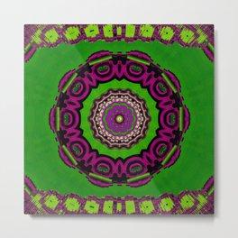 Mandala decorative and meditative Metal Print