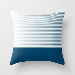 MNML bloo Throw Pillow