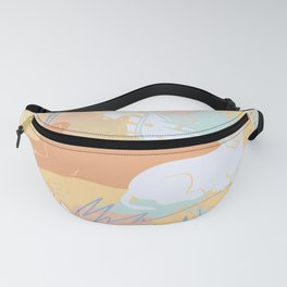 Spring Jungle Cats Fanny Pack