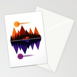 Bear & Cubs #5 Stationery Cards