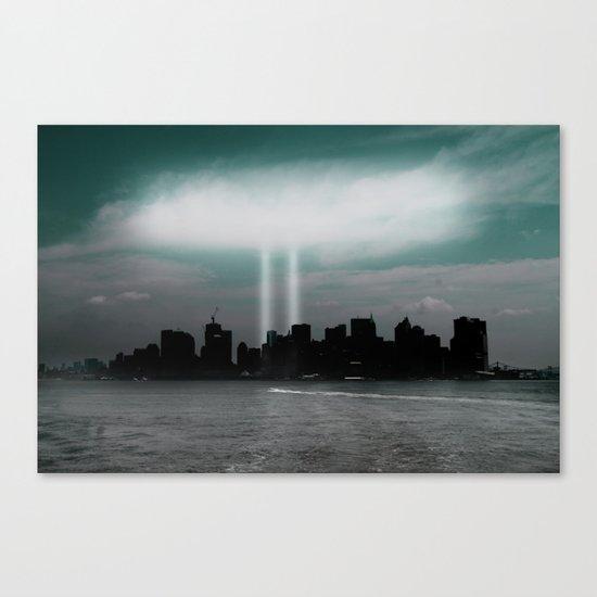 Renewal - New York City skyline Canvas Print