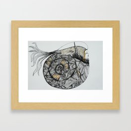 Mujer del Mar . Sea Woman. #1 Framed Art Print