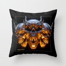 Hellfire Throw Pillow