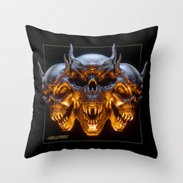 Hellfire Throw Pillow