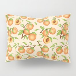 Practice What You Peach - Peach Pattern Pillow Sham