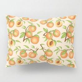Practice What You Peach - Peach Pattern Pillow Sham