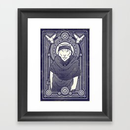Visitor from the North Framed Art Print